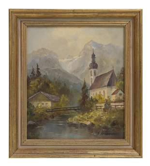 Gertrude Grigorov (20th Century) Oil (Ill/Germany)