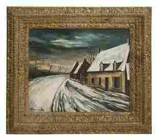 Maurice de Vlaminck (Attribution) (1876-1958) Oil