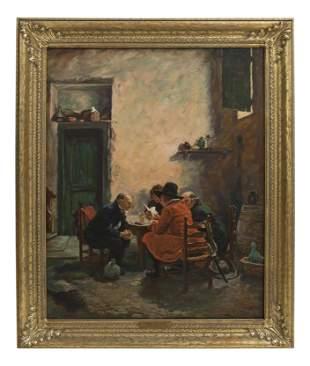 F. Winkler (20th Century) Oil