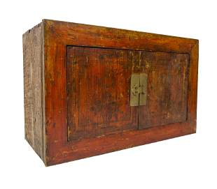 19th Century Chinese Hanging Cabinet