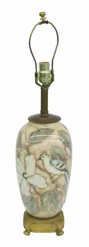 Loretta Holtkamp Rookwood Pottery Lamp
