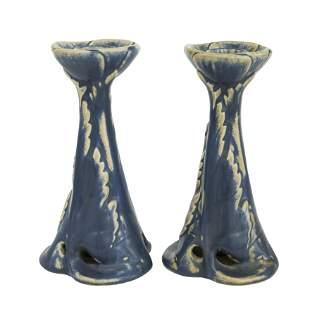 Rookwood Pottery Candlesticks #1193