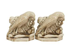 Rookwood Pottery Bookends #2275