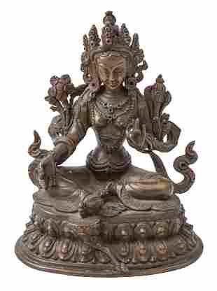 19th Century Sino- Tibetan Bronze