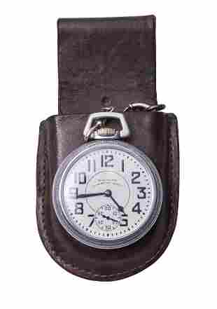 Waltham 23 Jeweled Vanguard Pocket Watch