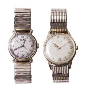 (2) Men's Gruen Wrist Watches