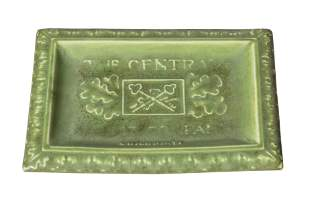 Rookwood Pottery Advertising Tray