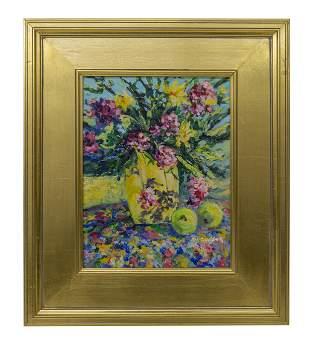Nell Revel Smith (20th Century) Acrylic (MI)