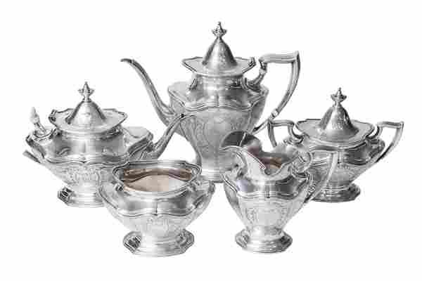 (5) Piece Sterling Tea/ Coffee Set