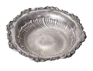 Ornate Sterling Silver Bowl