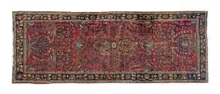 Sarouk Hall Runner Oriental Rug
