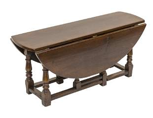 William & Mary Style Coffee Table