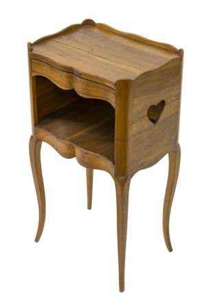 Country French Walnut Stand