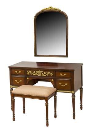 Kindel Vanity & Mirror