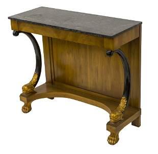 William Berkery Neoclassical Console Table