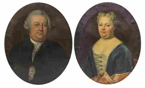 Pair of 18th Century Portraits