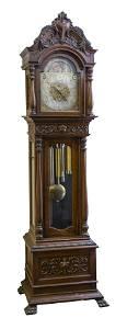 Rare Frank Herschede Hall Clock