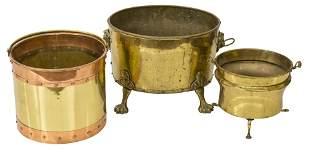 Assembled Brass Buckets