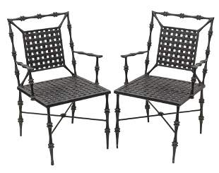 Phyllis Morris Arm Chairs