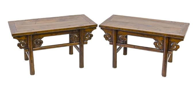 19th Century Chinese Low Tables
