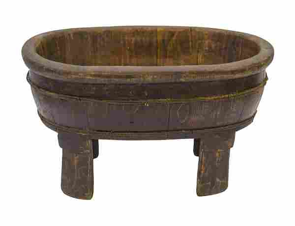 Chinese Oval Wash Tub