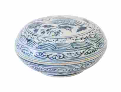 Chinese Canton Lidded Box