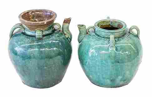 Chinese Oil Jars