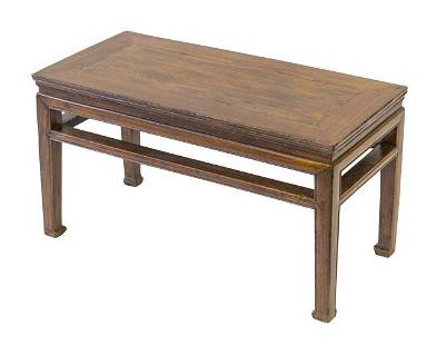 Chinese Elmwood Low Table/ Bench