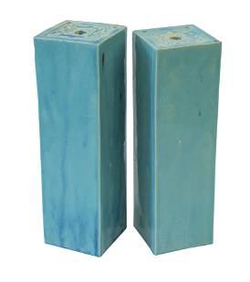 Chinese Glazed Stoneware Pillows