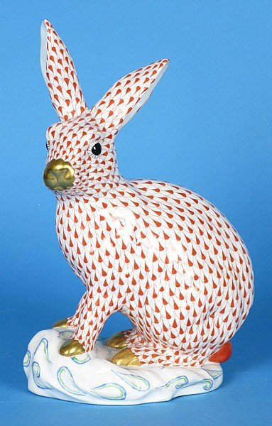 11: Large Herend Bunny