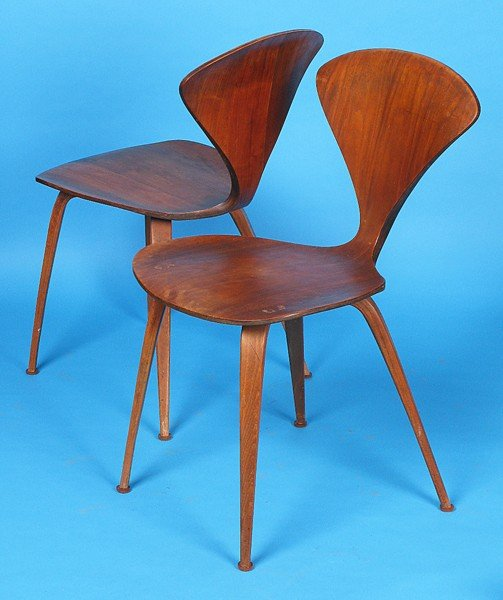 13: Norman Cherner Side Chairs