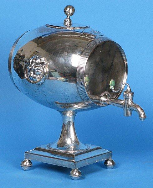 40: Silver on Copper Whiskey Dispenser