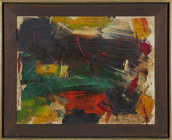 3: Oil, Abstract, Benjamin Mendoza