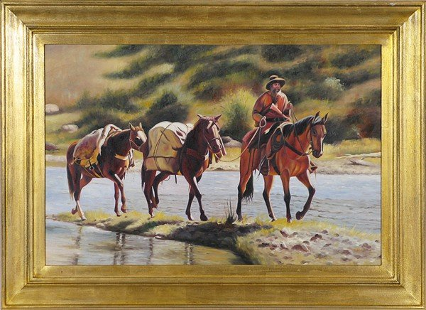 8: Country Rider, Oil