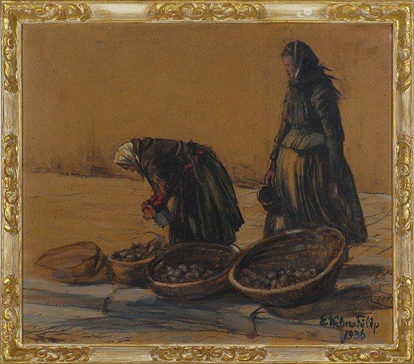 15: Elisabeth Weber- Fulop, 1936, Oil