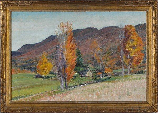 17: Arthur Harold Lindberg, Oil
