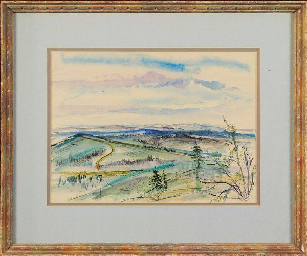Frank Osborne - Watercolor