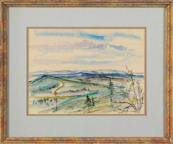 6: Frank Osborne - Watercolor