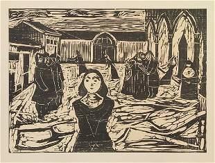 Edvard Munch - Woodcut