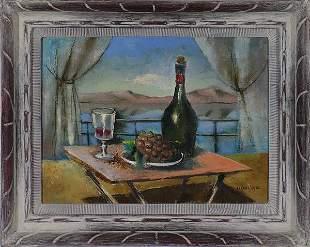 Edgar Louis Yaeger - Oil