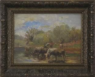 Charles Meurer - Oil