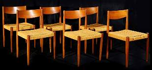 Peter Hvidt Dining Chairs (6)
