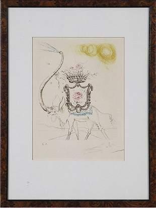 Salvador Dali - artist proof