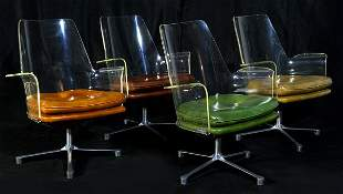 Vladimir Kagen Attribution Chairs (4)