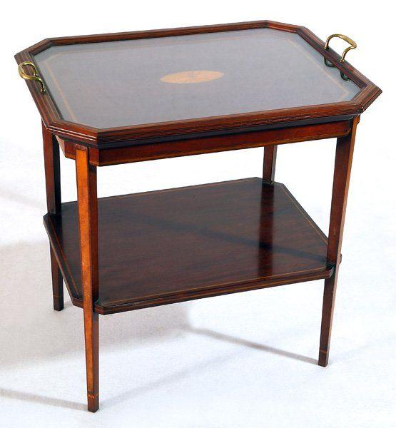 Mahogany Hepplewhite Tea Table