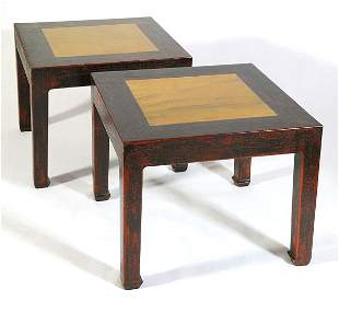 Pair Chinese Tables