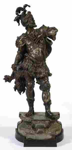 Spelter Knight