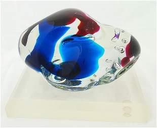 Elis Roffodi Glass Sculpture