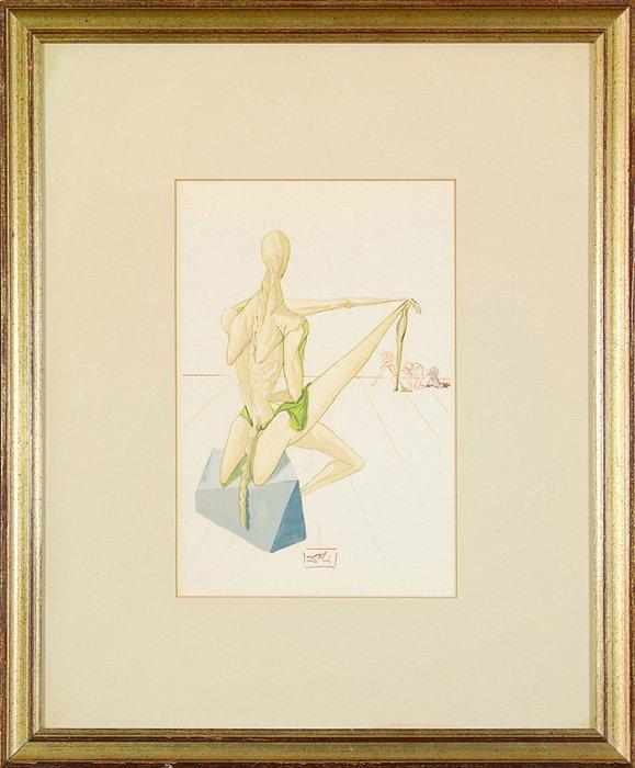 1: Salvador Dali - Lithograph
