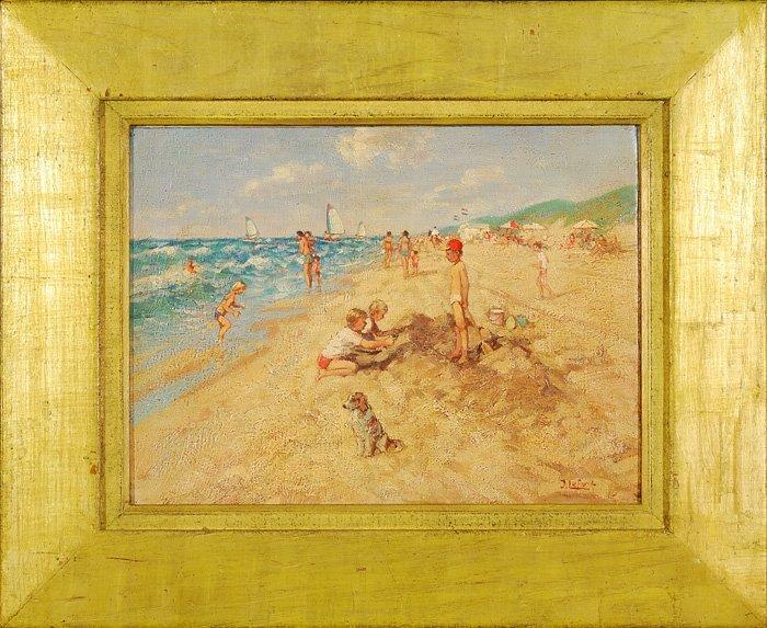 4: Jean Louis Lefort - Oil